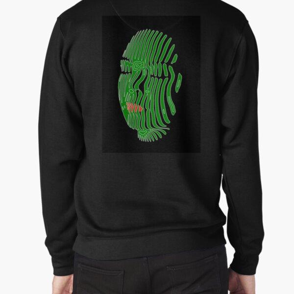 Green Peace (kinetic mask) Pullover Sweatshirt