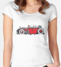 Ed's Dead Sled Women's Fitted Scoop T-Shirt