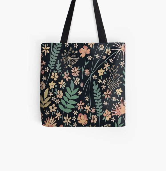 coleus flower design , funny face mask, gifts for women, adult face mask, custom mask All Over Print Tote Bag