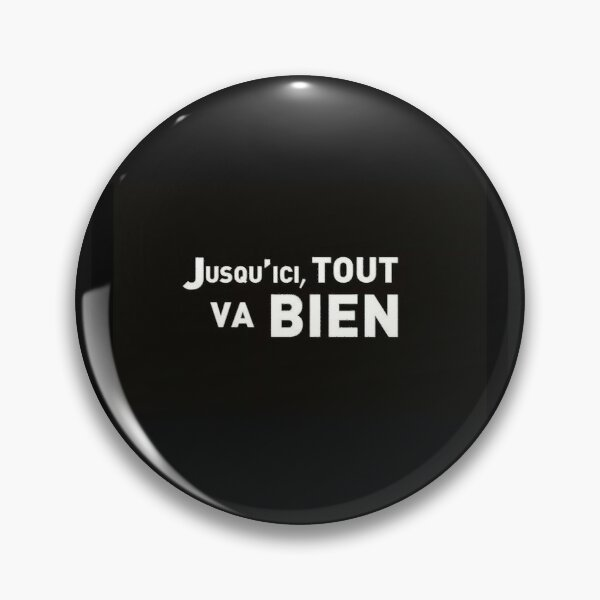 La Haine Sticker Badge