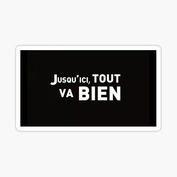 La Haine Aufkleber Sticker