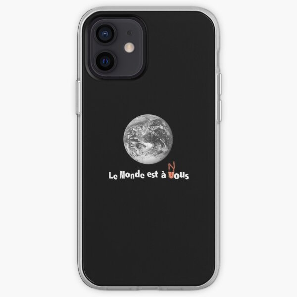 La Haine Sticker Coque souple iPhone