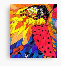 Flamenco! Canvas Print