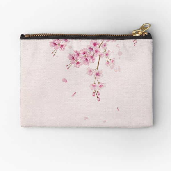 Cherry Blossom 2 Zipper Pouch