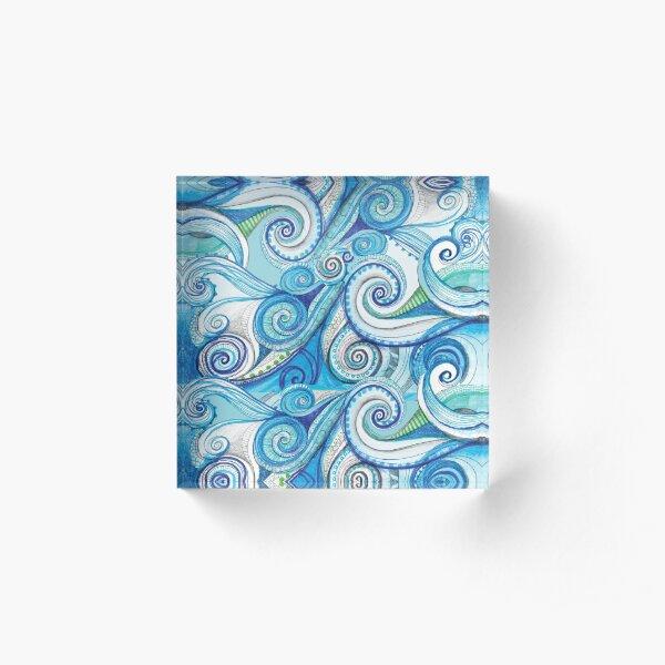 SWIRL Acrylic Block