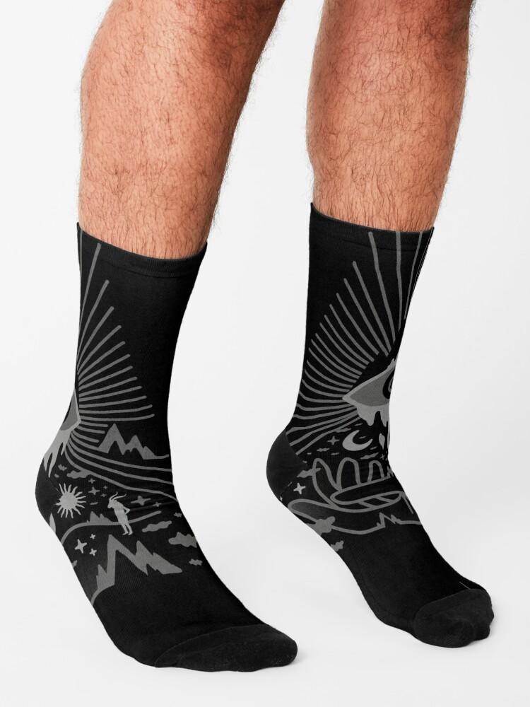 Alternate view of Secret Disorder Socks