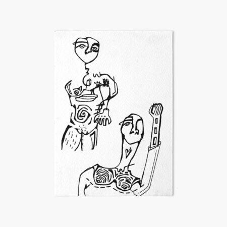 Team Art Board Print