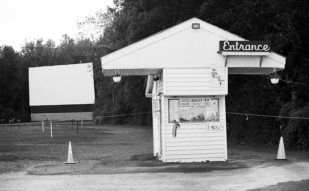 Auburn, NY - Drive-In Theater by Frank Romeo