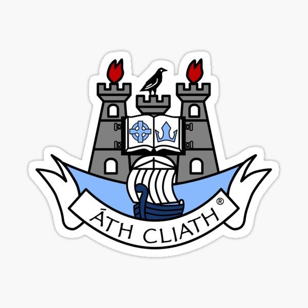 Dublin Crest logo Ireland Sticker