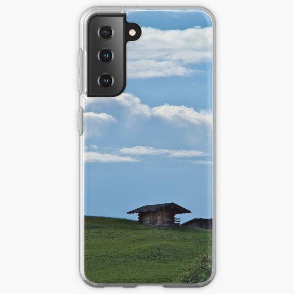 Hut on the mountainside Samsung Galaxy Soft Case