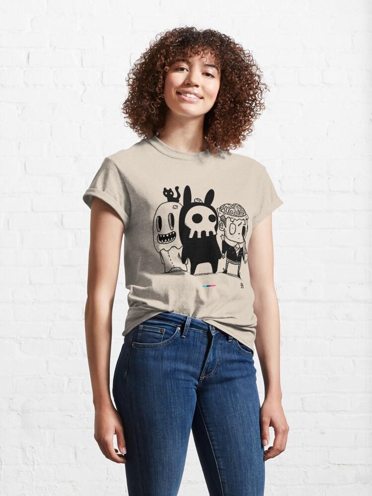 Vista alternativa de Camiseta clásica Monster Friends