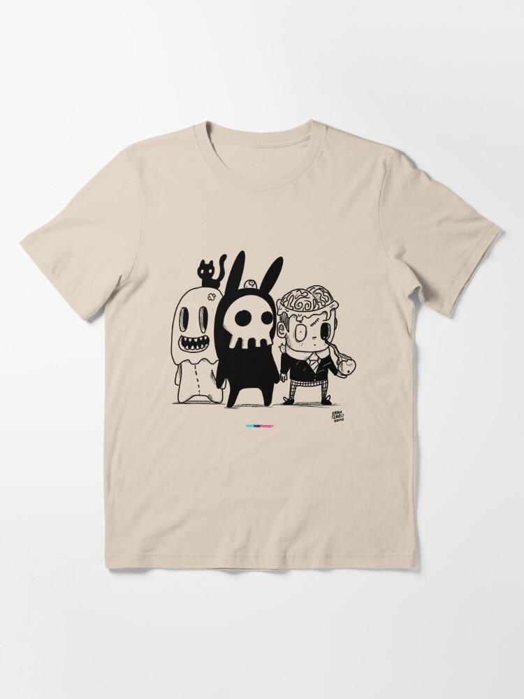 Vista alternativa de Camiseta esencial Monster Friends