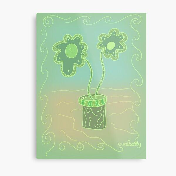 Plant pot Metal Print
