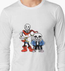 Undertale - Sans and Papyrus Long Sleeve T-Shirt