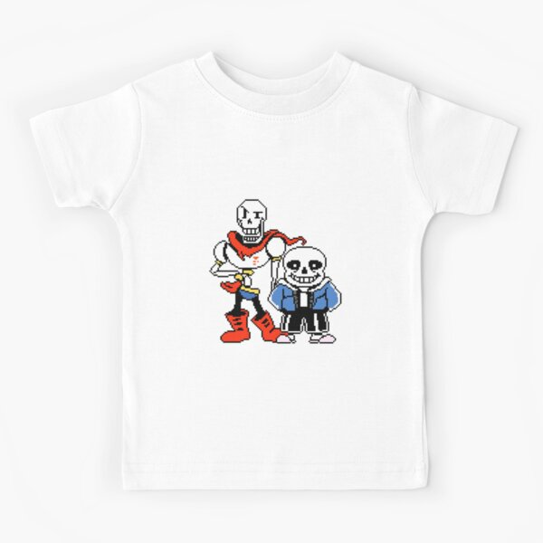 Undertale - Sans and Papyrus Kids T-Shirt