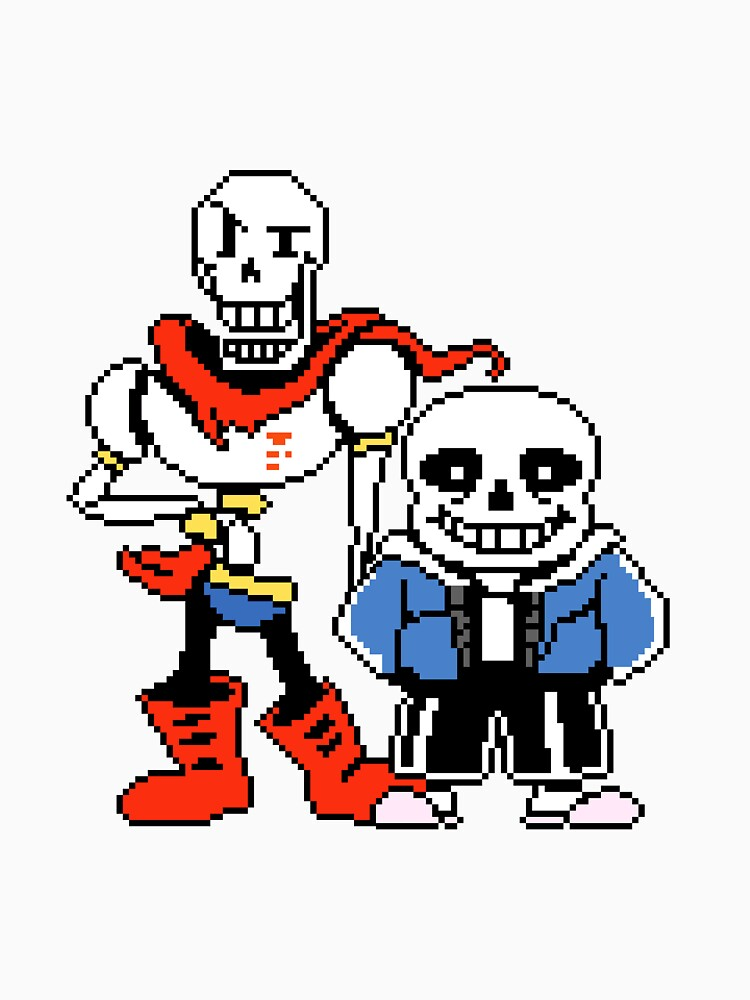 TShirtGifter presents: Undertale - Sans and Papyrus | Unisex T-Shirt