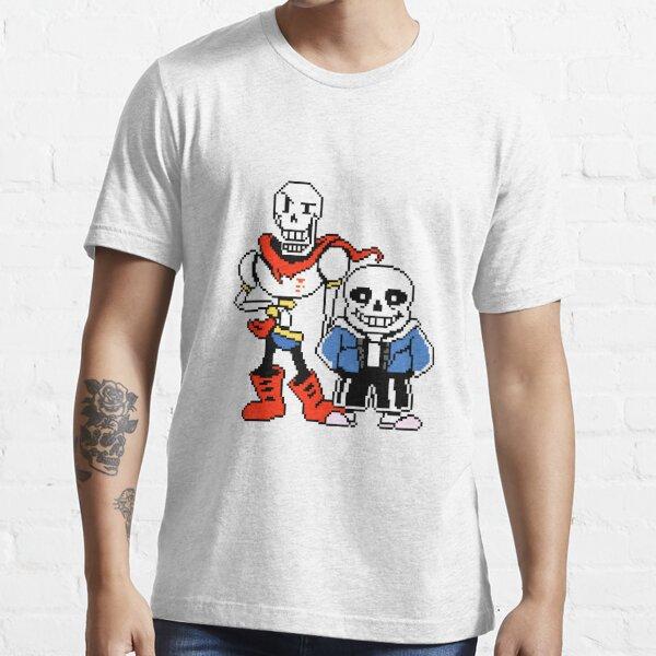 Undertale - Sans et Papyrus T-shirt essentiel