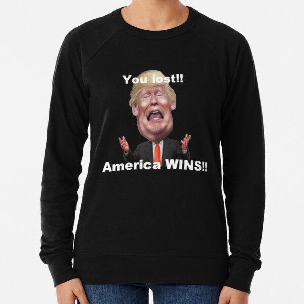 Trump Lost Lightweight Sweatshirt