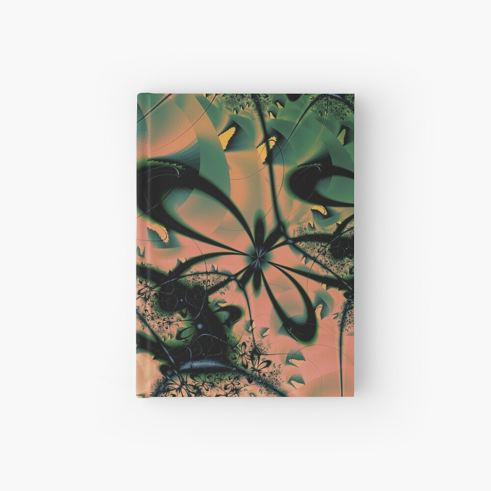 Sunshine Butterflies Art  Hardcover Journal