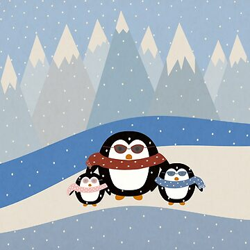 Cute Penguins by cristinadesign
