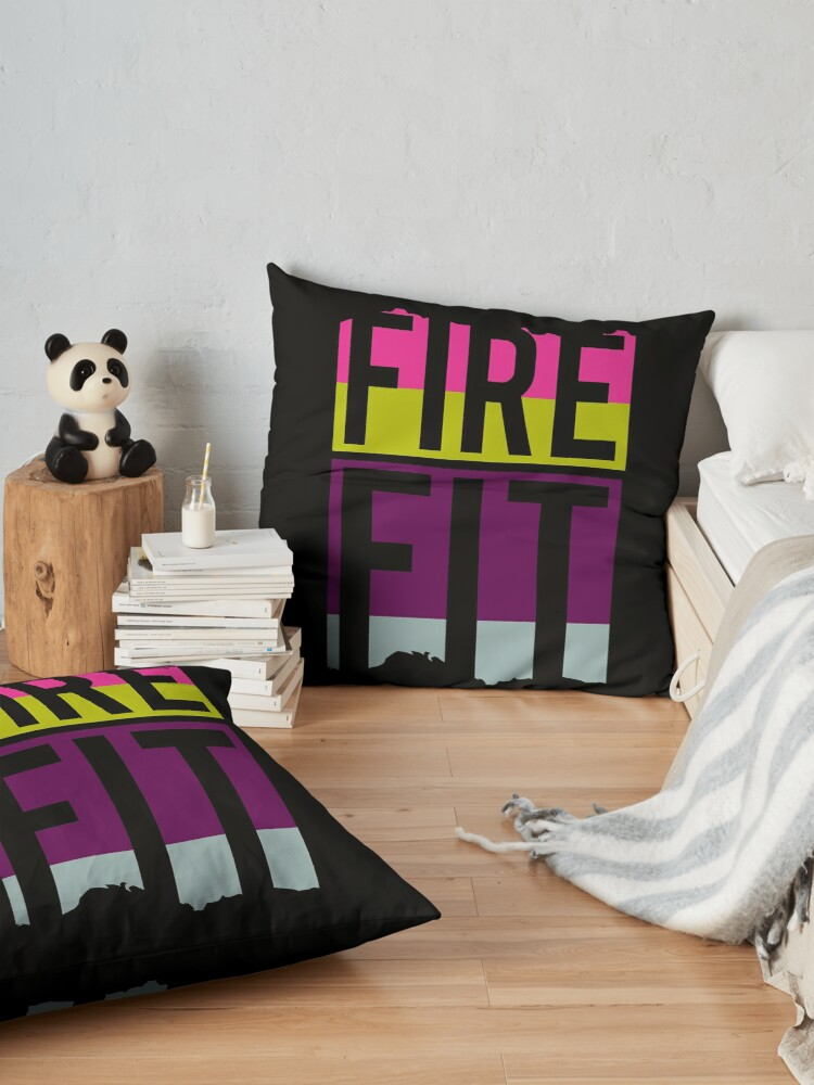 Alternate view of Fire Fit Floor Pillow