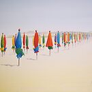 Deauville Beach Normandy  by Heatherian