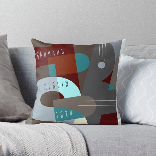 Bauhaus Exhibition Poster - Berlin Throw Pillow