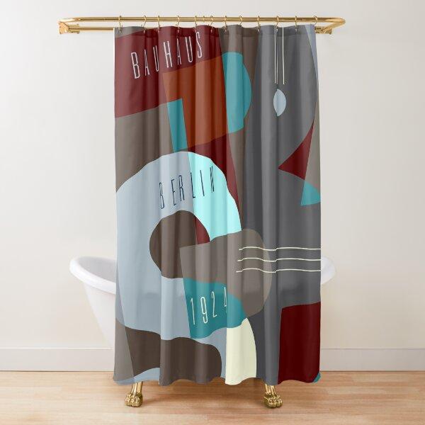 Bauhaus Exhibition Poster - Berlin Shower Curtain