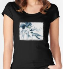 Sea Turtle Totem Women's Fitted Scoop T-Shirt
