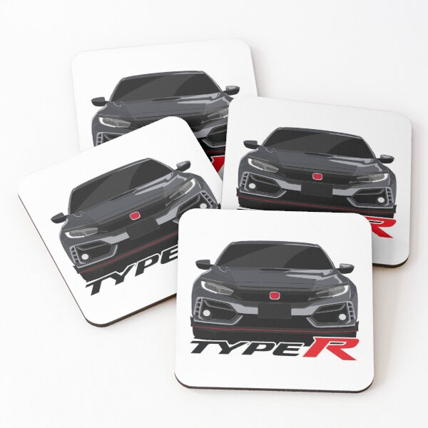 Honda Civic Type R Coasters (Set of 4)