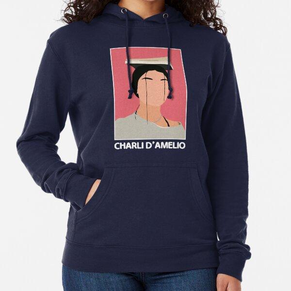 Charlie Damelio Tiktok  Sudadera ligera con capucha