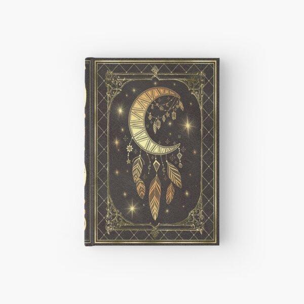 Moon dream catcher Hardcover Journal
