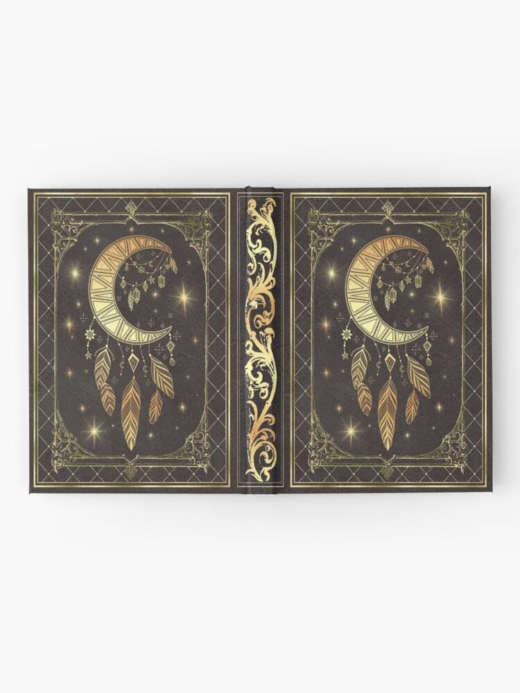 Alternate view of Moon dream catcher Hardcover Journal