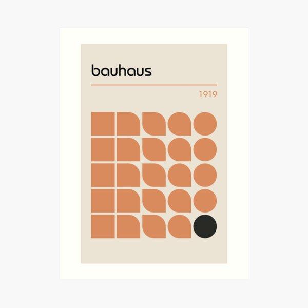 Bauhaus #19 Art Print