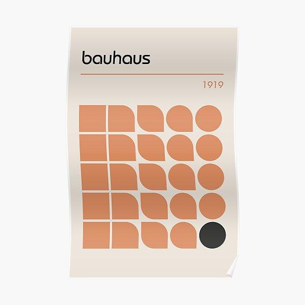 Bauhaus # 19 Póster