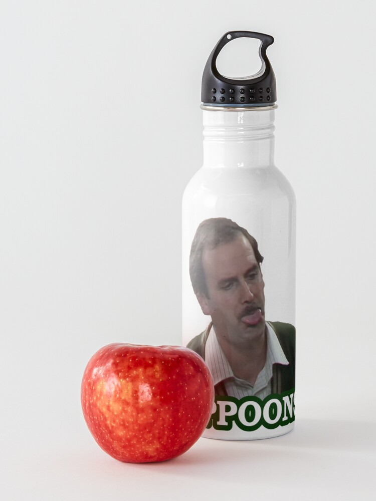Alternate view of Fawlty Towers SPPPPOONS! Water Bottle