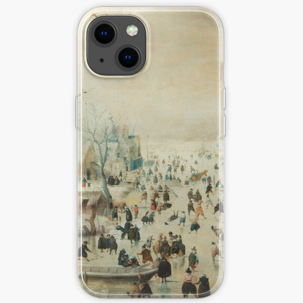 Holiday Ice Skating Rijks Museum Collection iPhone Soft Case
