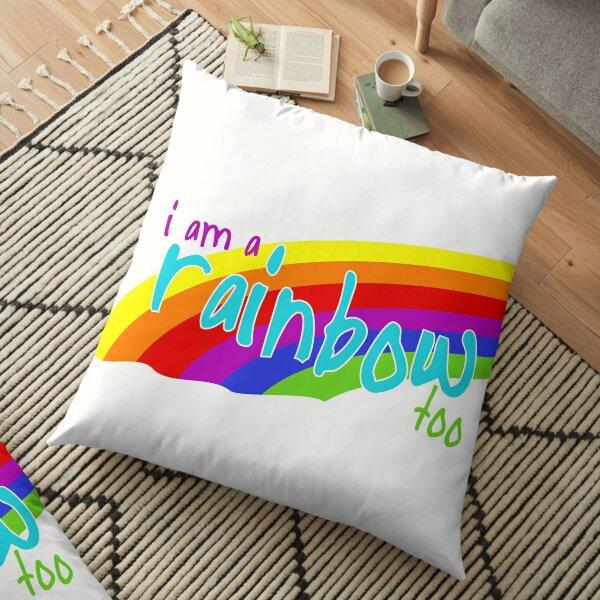 I am a rainbow too - BOB MARLEY Floor Pillow