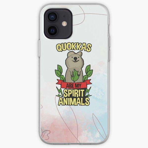 Quokkas Are My Spirit Animal | Quokka iPhone Soft Case