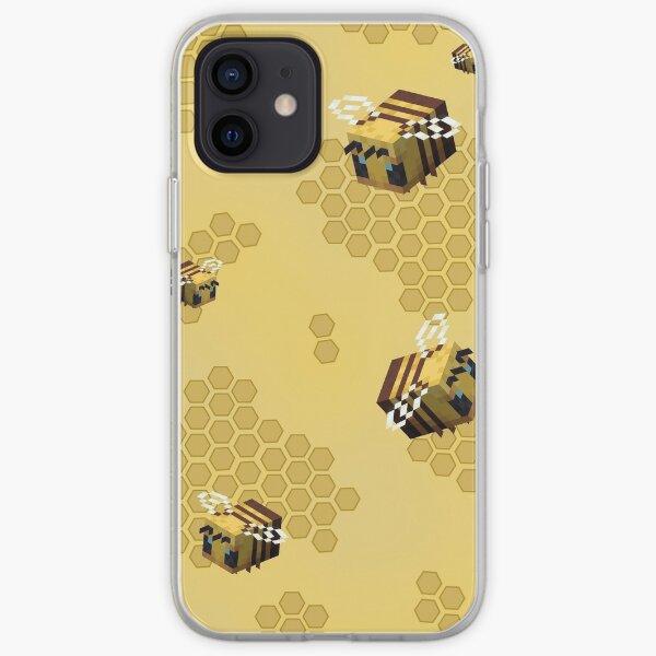 Cas de téléphone d'abeille Coque souple iPhone