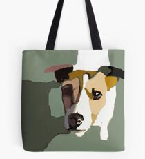 Jack Russel in the sun Tote Bag