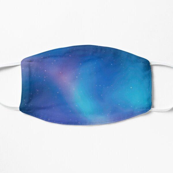 Aurora Borealis Forest Flat Mask