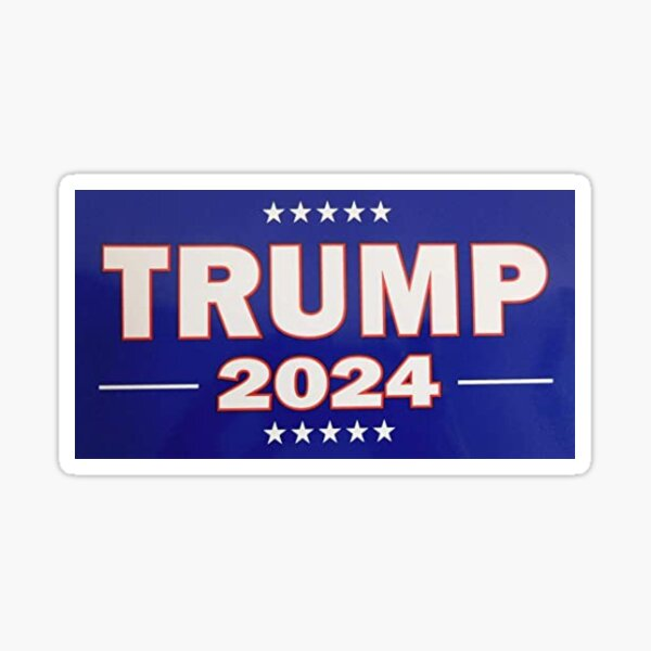 pare-chocs Trump 2024 Sticker