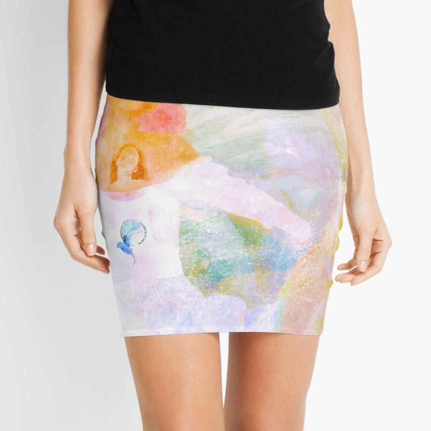 Shh, I got a Secret Mini Skirt