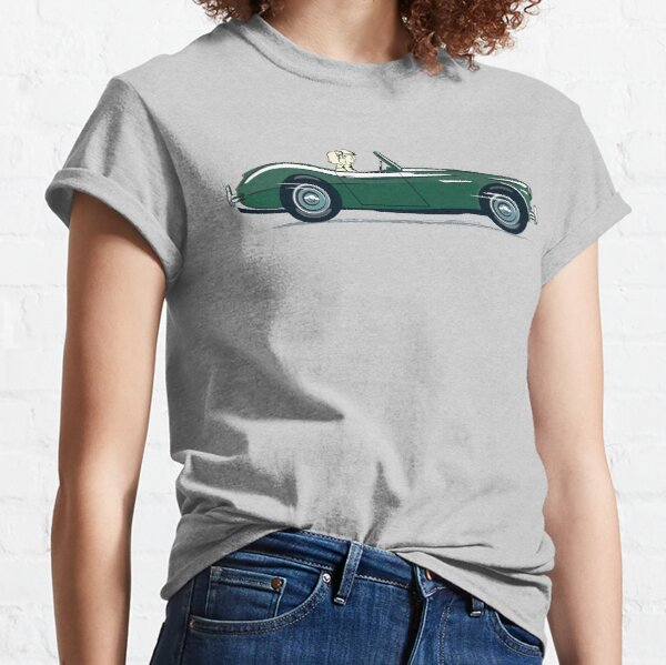 British Racing Green AH 3000 in 1959 'launch' style promotion Classic T-Shirt