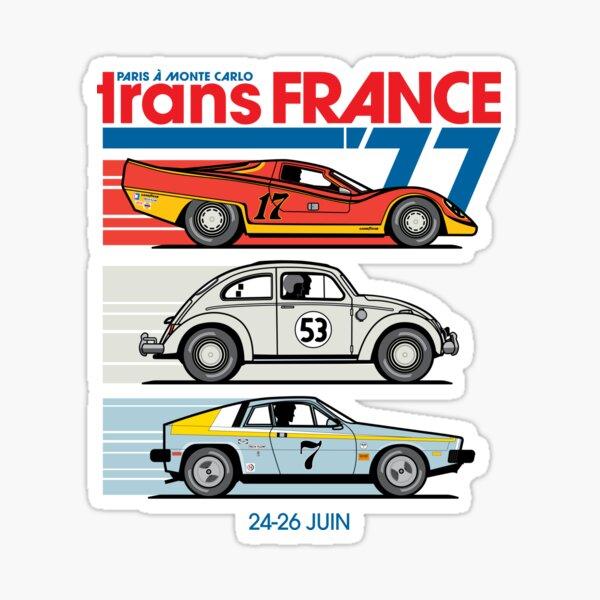 Trans France Trio Sticker