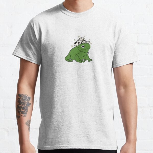 Frog with a cowboy hat ★ Classic T-Shirt