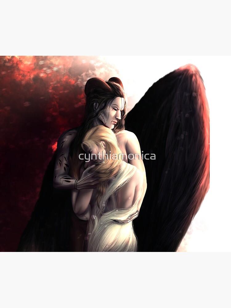 Monster Malachiasz and Nadya - Ruthless Gods by cynthiamonica