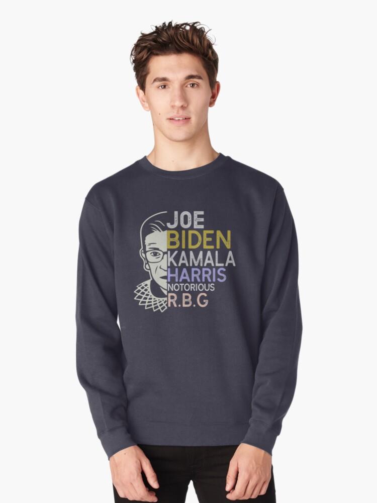 Biden Harris 2020 Peace Love Equality Hope Diversity R.B.G Sweatshirt