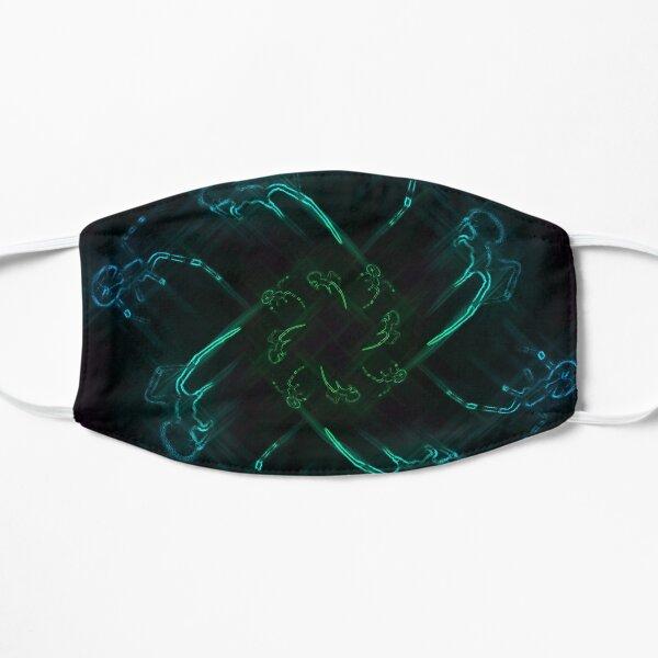 Neon Spider Spiral 3 Flat Mask